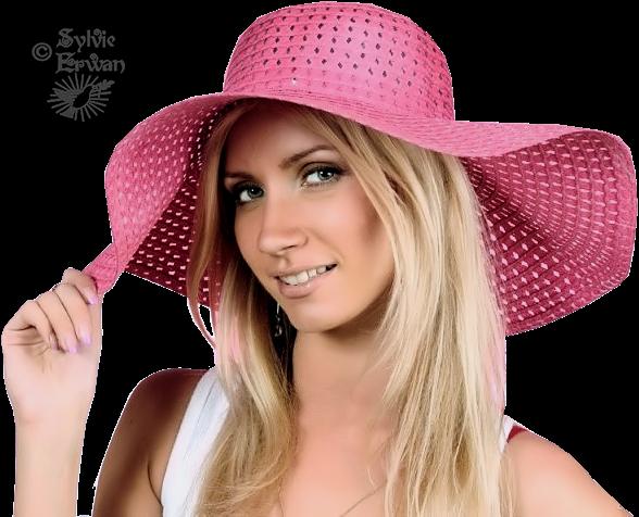 Tubes femmes chapeaux création 3