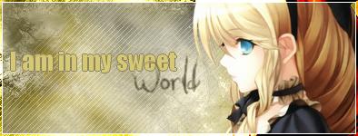 Kit I am in my sweet world