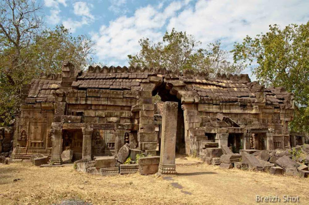 Banteay Prei Nokor - Le site est laissé à lui même