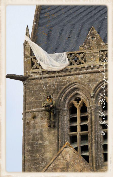 Ste Mère L'église - Le parachutiste