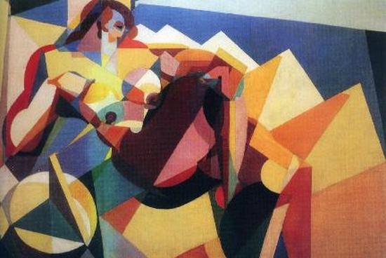Enrico Prampolini, De la volupté, 1923
