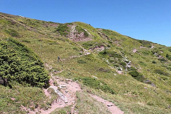 rando au lac d'Arlet-20-montée vers le col de Lapachouaou
