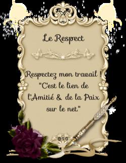 Le Respect - Modèle #1