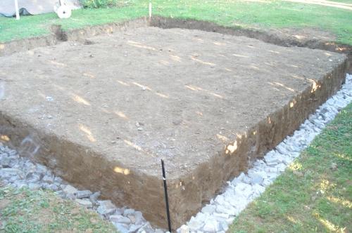 Construction d 39 un abri de jardin construction d 39 un abri de jardin - Fondation pour abri de jardin en parpaing ...