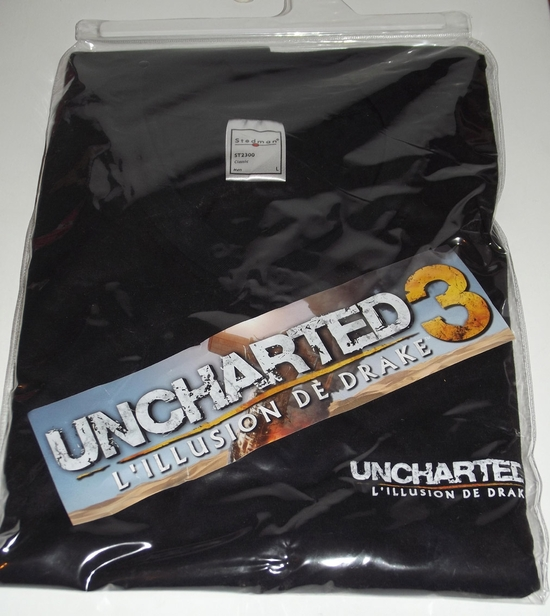 vetements t-shirt uncharted 3