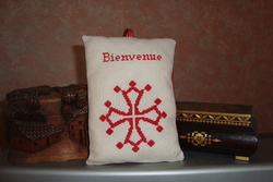 Panneaux - Croix occitane