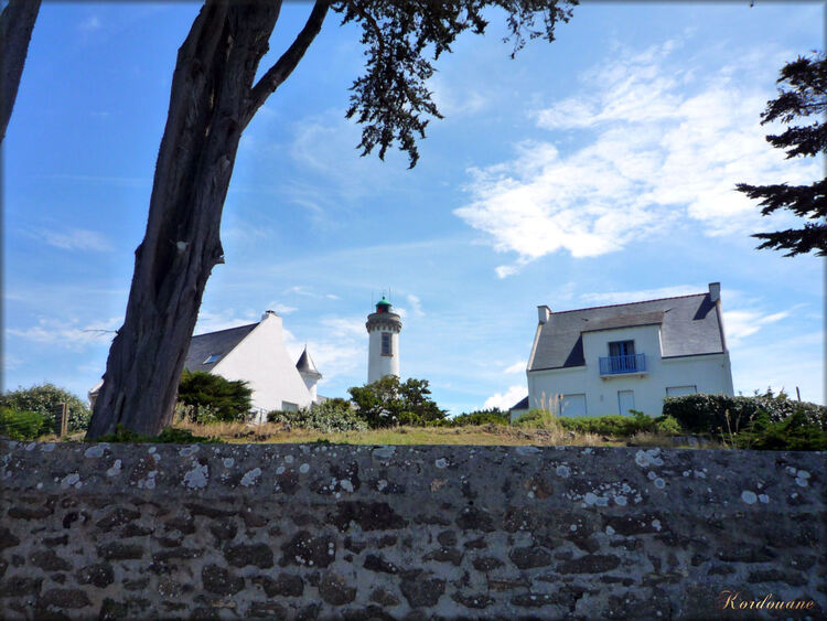 Arzon, le phare de Port Navalo