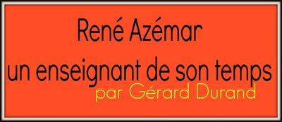 René AZEMAR : Bartome