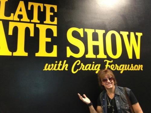 Richie sera artiste résident ds le Late Late show sur CBS