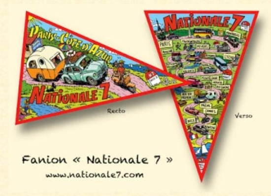 FANION NATIONALE 7 D