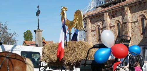 A St Désiré, le coq retrouve son clocher