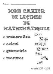Cahiers et organisation du matériel des élèves