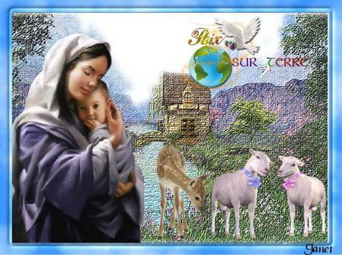 Un bel hommage à la Vierge Marie
