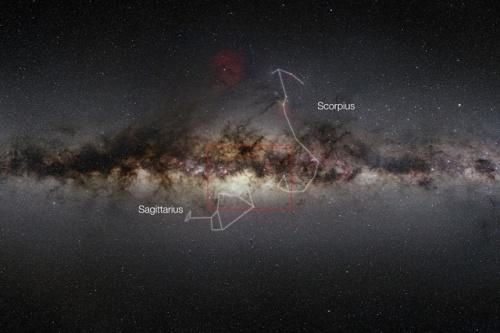 84 millions d'étoiles dans une photo de 9 Gigapixel de notre galaxie