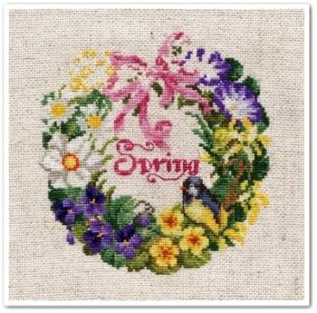 """Spring Wreath"" 5"