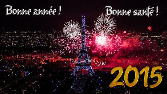 Bonnée année 2015
