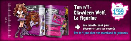 N° 1 collection Monster High - Test