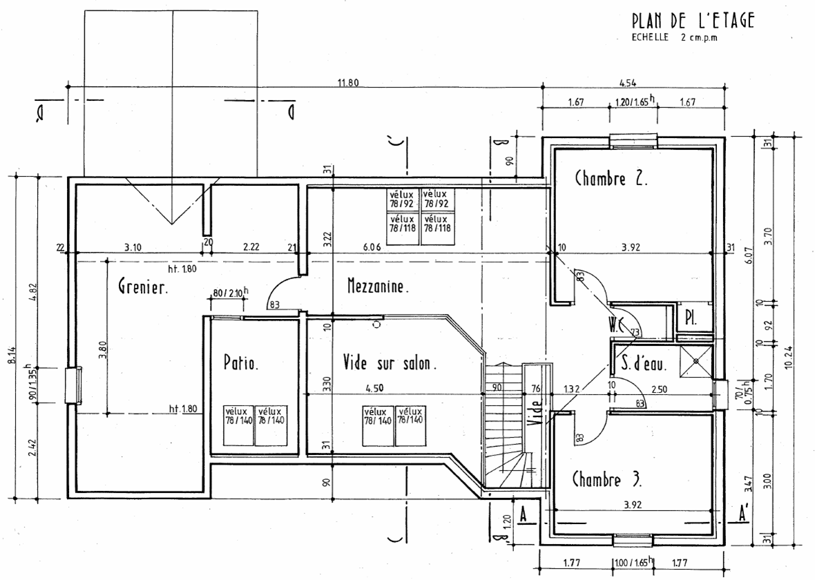 Plan d 39 interieur de maison for Dessiner les plans de sa maison