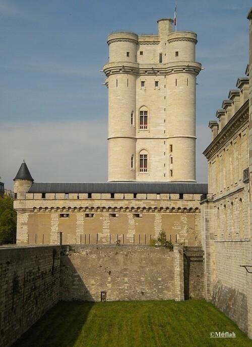 Le Château de Vincennes, résidence principale des rois de France