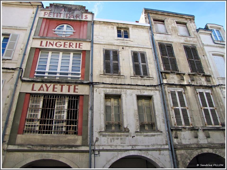 La Rochelle et ses vieilles façades