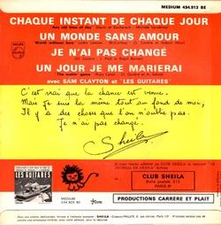 CHAQUE INSTANT DE CHAQUE JOUR