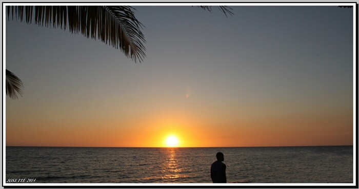 Couché de soleil a Madagascar