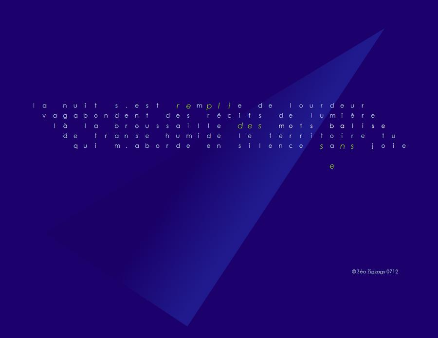 Bleu ...pour l'amour de l'éternité - [IsoZéo] - repli
