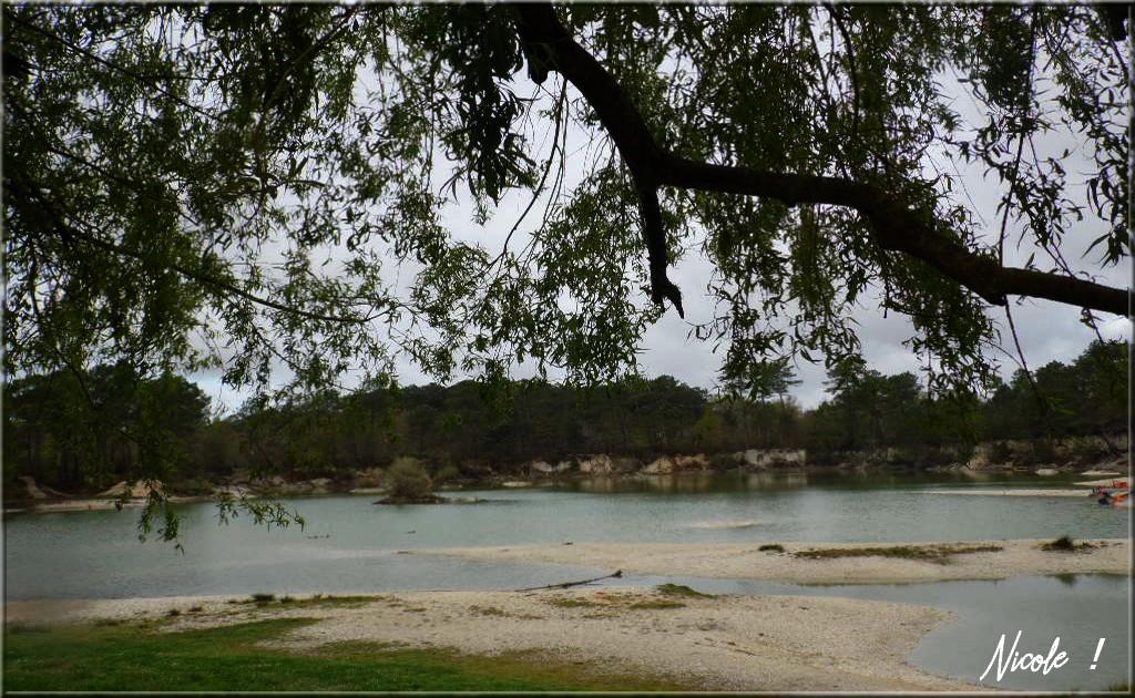 Au lac c'est le bleu !...