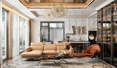 Kinh nghiệm tự thiết kế nội thất nhà chung cư 45m2