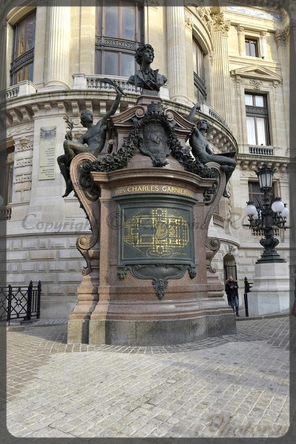 Paris - Paris - île de France - Opéra de Paris - Opéra Garnier