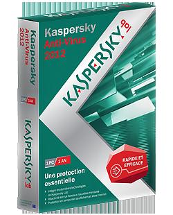 Kaspersky antivirus 2012 - Licence 3 mois gratuit