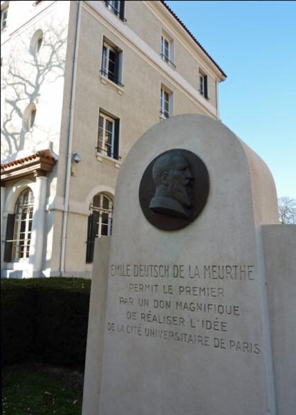 Stèle Emile Deutsch de la Meurthe