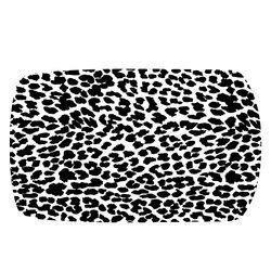 Stickers voiture léopard Noir & Blanc