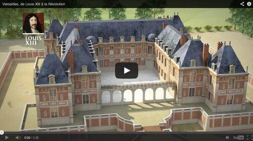 Vidéo du chateau de Versailles