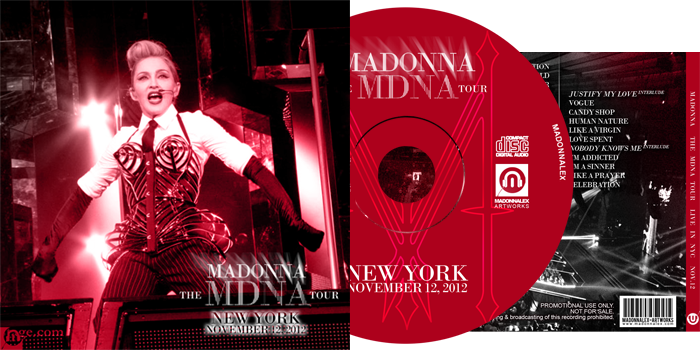 The MDNA Tour - Audio Live in NYC Nov12