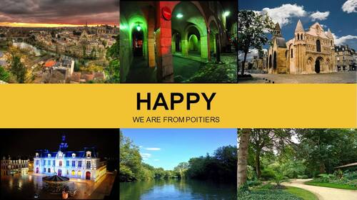 "Le phénomène "" Happy "" gagne Poitiers ..."