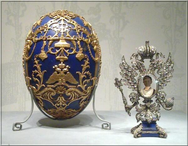 Pierre-Karl Fabergé l'Oeuf du Tsarévitch