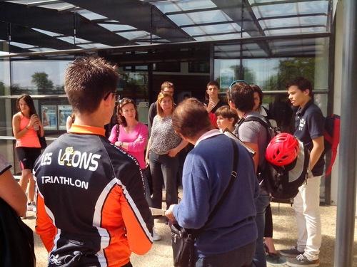 Sélection à la Section Sportive Triathlon, lycée Marie Curie Versailles