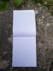 bloc-notes intérieur