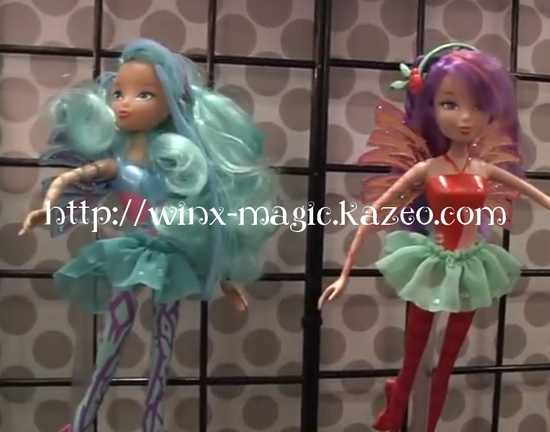 Musa et Bloom Sirenix dolls