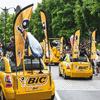 BIC dans la caravane du. Tour de France 2016