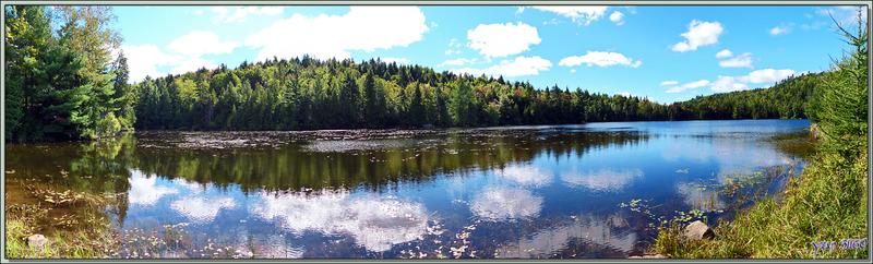 15 septembre 2016 : départ vers La Malbaie en passant par le Lac Castor - Saint-Paulin - Mauricie - Québec - Canada