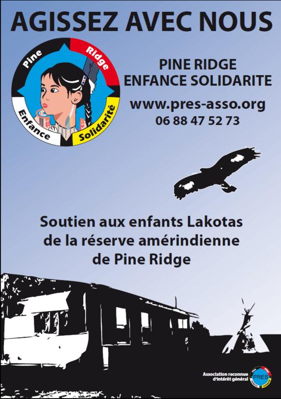 Association venant en aide aux enfants Sioux Lakota vivant sur la réserve de Pine Ridge (USA)