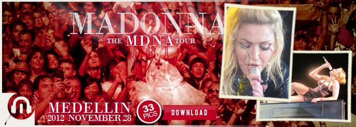 The MDNA Tour - Medellin NOV28 - Pictures