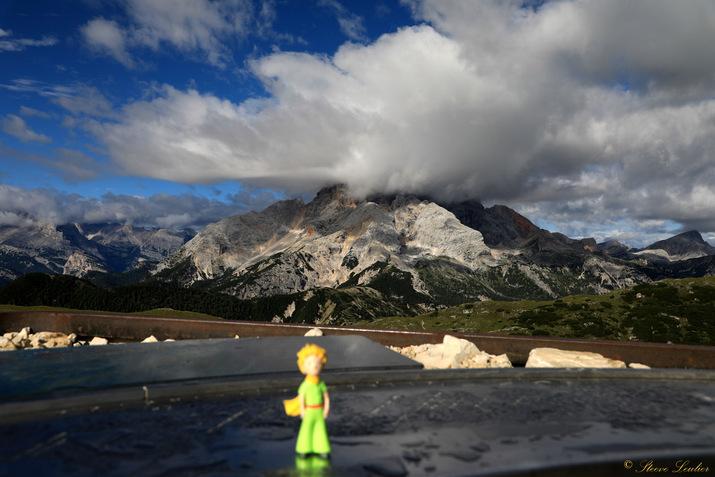 Le Petit Prince dans les Dolomites, Monte Specie, Italie 2020