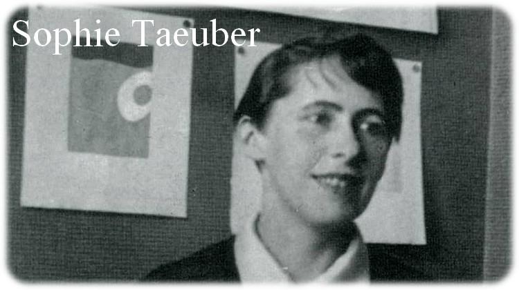 19 Janvier 1889 / Naissance de Sophie Taeuber