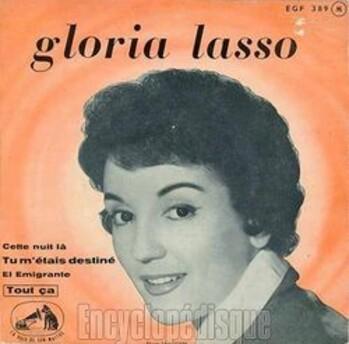 Gloria Lasso, 1959