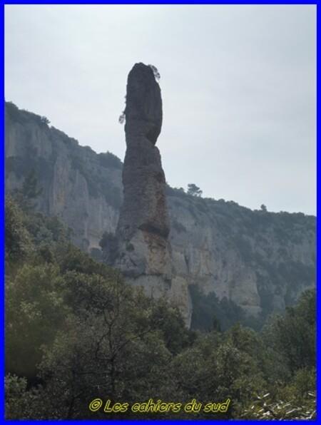 Luberon, la combe de Vaumale-combe de Lioux