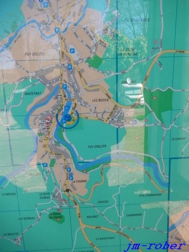 Uzerche:  une marche sur les rives de la Vézère dans les pas de Simone de Beauvoir