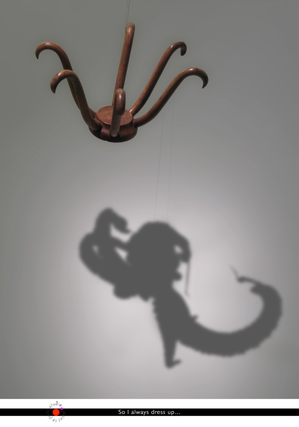 MARCEL DUCHAMP HAT RACK-OCTOPUS